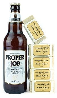 New Cornish soap made with Proper Job IPA