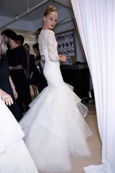 Amsale's wedding dress, Carson