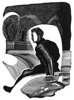 Владимир Андреевич Фаворский (1886-1964гг). Иллюстрации к книге С.Спасского «Новогодняя ночь» 1932 г - Музей рисунка