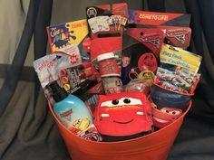 Boys Easter Basket, Easter Gift Baskets, Christmas Baskets, Christmas Gifts, Small Gifts, Gifts For Kids, Craft Stick Crafts, Diy Crafts, Kids Toy Shop