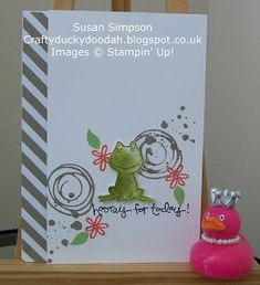 Craftyduckydoodah!: Stampin' Up! - Love You Lots (for Coffee & Cards)
