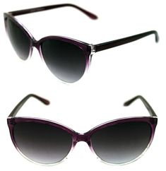 356833dae3 Women s Cat Eye Medium Frame Purple Clear Sunglasses Retro Designer Vintage  50 s  Unbranded  CatEye