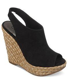 f4dca29f8792 Carlos by Carlos Santana Bali Peep Toe Platform Wedges Shoes - Sandals   Flip  Flops - Macy s