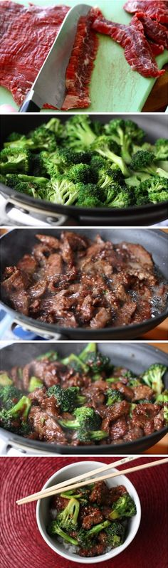 Beef with Broccoli: Easy marinade is all that it takes to get that crazy-tender beef, even with less expensive cuts. | Rainy Day Gal