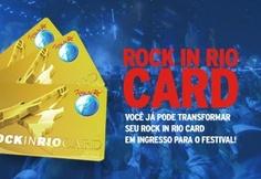 Você já pode trocar seu Rock in Rio Card por ingresso