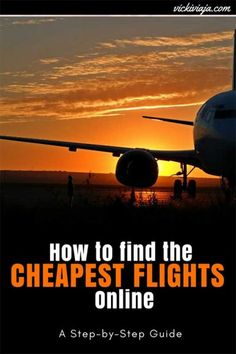 The ultimate Guide to finding the cheapest Budget Flights online Packing Tips For Travel, Travel Advice, Budget Travel, Travel Guides, Travel Stuff, Travel Hacks, Budget Flights, Cheap Flights, Airplane Travel