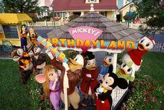 Mickey's Birthdayland 1990