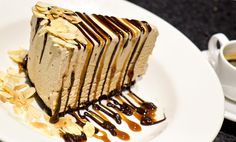 Share your love and just maybe your Billy Miner Pie. The Keg Steakhouse & Bar Billy Miner Pie. Mocha ice cream on a chocolate crust with hot fudge, caramel and almonds. Bbq Desserts, Ice Cream Desserts, Frozen Desserts, No Bake Desserts, Just Desserts, Delicious Desserts, Yummy Food, Ice Cream Pies, Frozen Treats