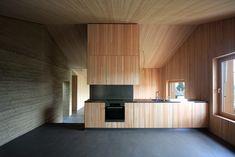 Rammed Earth Wohnhaus in Flims, Switzerland by Architect Martin Rauch + FeBruAr