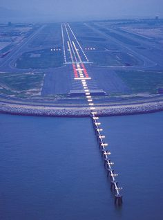 Hong Kong airport strip