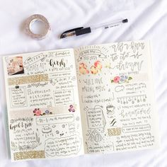 """studykouffee: """" 29.12.16 hello hello! here is one of my simpler spreads in the flesh (or paper) and i say that because i typically use a lot of different colours in a single theme! 2017 is fast..."""