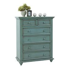 Baby Cache Emerald Inn 5-Drawer Chest - Sea Mist