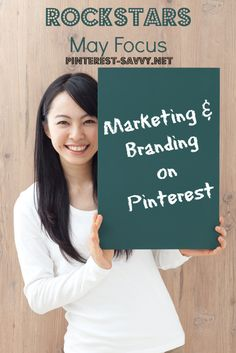 In May, the Rockstars group will be focusing on marketing & branding on Pinterest with videos and discussion on contests, branding, & more.
