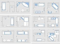 bathroom floor plan images - Google Search