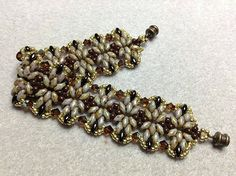 Annelies bracelet beaded by my Beading Friends- Beading Tutorials inspiratie
