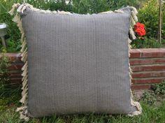 Minder Zet.com'da 95 TL Floor Cushions, Cotton Thread, Upcycle, Recycling, Throw Pillows, Flooring, Fabric, Handmade, Tejido