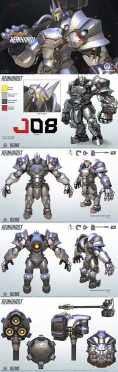 Reinhardt Overwatch Reference Guide