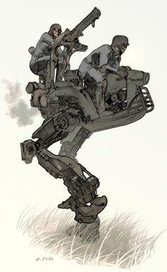 Tóraidhe Concept Art by Aaron McBride (via Concept Art World)