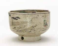 """Chawan"" (tea bowl), Miyazaki Tominosuke (Edo Kenzan III) - 1770s-1830s. - Private collection."