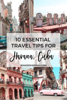 Essential Havana Travel Tips Planning a trip to Havana, Cuba soon? Make sure to read these Havana travel tips before you go to avoid making the mistakes I did on my trip!Making Travel Guides, Travel Tips, Travel Advice, Budget Travel, Work Travel, Travel Hacks, Travel Photos, Cuba Itinerary, Places To Travel