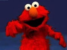 Yo Imma rappa and my name is Elmo  And I like to chill with my buddy Domo!! Domo!! Domo!!