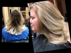 Before and After in Jenn's chair. Book your holiday appointments NOW 918-369-8482