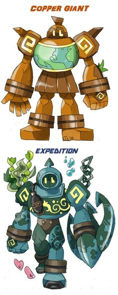 GOLURK variations (final) by Kurigaru on DeviantArt Pokemon Fusion Art, Pokemon Fake, Mega Pokemon, Pokemon Pokedex, Pokemon Pins, Pokemon Fan Art, Character Art, Character Design, Pokemon Breeds