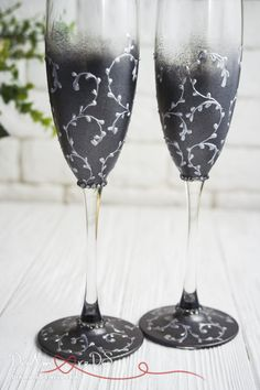 Wedding Toasting Flutes Personalized Champagne Glasses