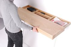 Reverse drawer