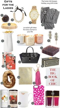 Holiday Gift Guide: For the Ladies via The Suite Life Designs Christmas Gift Guide, Best Christmas Gifts, Holiday Gifts, Xmas, Christmas Stocking, Christmas 2019, Winter Christmas, Holiday Fun, Christmas Ideas