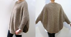 """Veronika """"swoncho"""" pattern by CocoKnits - two skeins for a medium, lightly felted"""