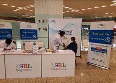 SRL Diagnostics Organizes a 'Free Cardiac Screening Camp' at Mumbai Airport to Commemorate World Heart Day World Heart Day, Mumbai Airport, Press Release, Social Platform, Announcement, Organization, Free, Getting Organized, Organisation