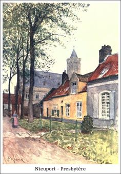 Nieuport – Presbytère   Bibliotec – À la française … 2