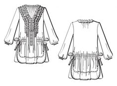 Pattern Review: Vogue 1255 Tunic - Threads