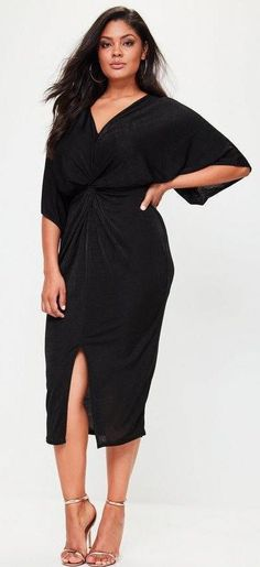 33 Plus Size Wedding Guest Dresses {with Sleeves} - Alexa Webb Plus Size Wedding Guest Dresses, Plus Size Cocktail Dresses, Plus Size Dresses, Plus Size Outfits, Short Sleeve Dresses, Dresses With Sleeves, Long Sleeve, Wrap Dresses, Dresses Dresses