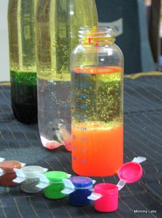 "How To Make A Homemade Lava Lamp Fascinating Lava"" Lamp For My Brother's Demonstration Speech  Kid Arts & Crafts Design Decoration"