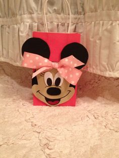 Minnie Mouse party favor bag on Etsy, $3.00