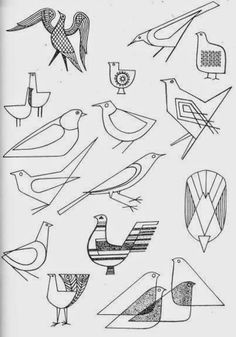 from Inspiration For Embroidery by Constance Howard published in 1966