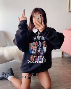Likes, 468 Comments - Nava Rose Retro Outfits, Grunge Outfits, Kpop Outfits, Edgy Outfits, Girl Outfits, Cute Outfits, Fashion Outfits, Womens Fashion, Grunge Dress