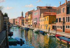 Fine Art and You: Licio Passon   Italian Painter   1965