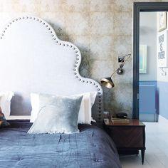 Fabriquer une tête de lit capitonnée Lounge, Bedroom, Furniture, Home Decor, Koti, Nighty Night, Marie Claire, Inspiration, Paper Envelopes