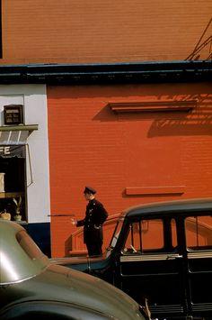 Werner Bischof. USA 1953 NYC / Magnum Photos