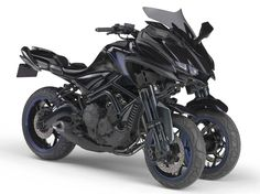 Yamaha mostra protótipo de 3 rodas MWT-9 no Salão de Tóquio - MotoNews - Andar de Moto
