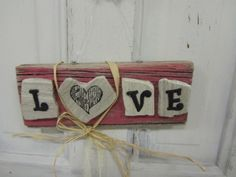 A cute sign that sums up the reason to celebrate! Adorable as a gift or attached to the outside of a gift! #love #wedding #giftidea