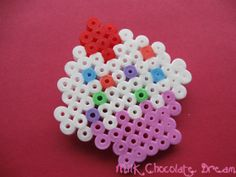 Colourful Cupcake Brooch by MilkChocolateDream on Etsy, £3.50