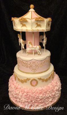Carousel cake - Cake by David Mason