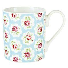 Buy Cath Kidston Provence Rose Mugs, Set of 4 Online at johnlewis.com