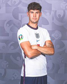 England National Football Team, National Football Teams, John Stones, Coming Home, Football Players, Lions, Baseball Cards, Photo And Video, Mens Tops