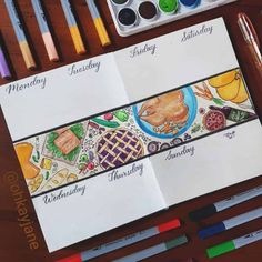 Make this your best Thanksgiving with these Bullet Journal page ideas. Bring holiday fun to your pages and use BuJo to help you organize the big dinner. Self Care Bullet Journal, Bullet Journal Cover Page, Bullet Journal Writing, Bullet Journal Ideas Pages, Bullet Journal Spread, Journal Covers, Bullet Journal Inspiration, Journal Pages, Journals