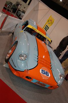 Two of my favorite things...TVR and Gulf colors